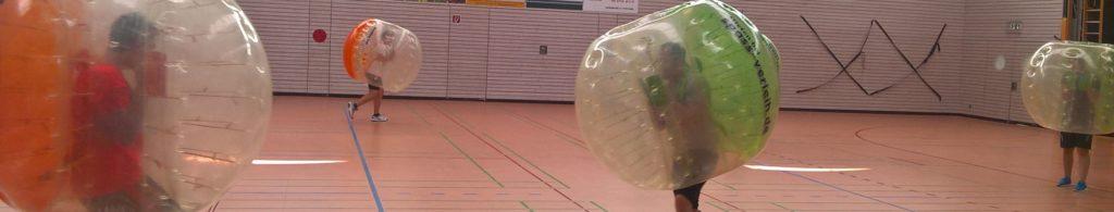 Bubble Soccer-Turnier beim TV Tamm